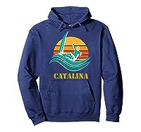 Catalina Souvenir Island California Shirts Hoodie Navy
