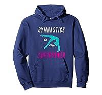 Top Girls Gymnastics Is My Superpower Gift Shirts Hoodie Navy