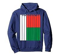Madagascar Vintage Malagasy Flag Vacation Shirts Hoodie Navy