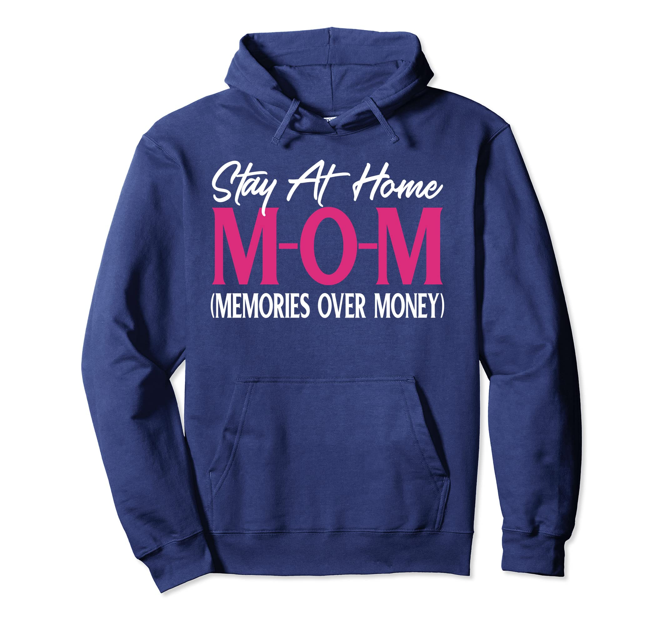 Amazon.com: Fun Mom Quotes Hoodie Gift Stay At Home Mom ...