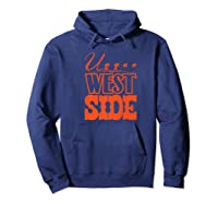 Upper West Side Grocery Store Tribute T Shirt Hoodie Navy