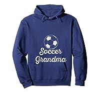 Soccer Grandma Shirts Hoodie Navy