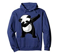 Dabbing Panda Giant Panda Bear Dab Dance Shirts Hoodie Navy