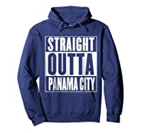 Straight Outta Pa City Shirt Hoodie Navy