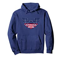 American Bald Eagle - Usa Flag Independence Day 4th Of July Tank Top Shirts Hoodie Navy