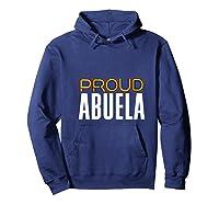 Proud Abuela Gay Pride Month Retro Lgbtq Shirts Hoodie Navy