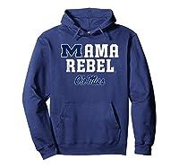 Ole Miss Rebels Mama Mascot T-shirt - Apparel Hoodie Navy