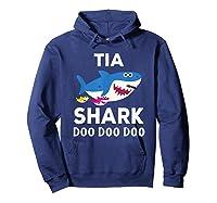 Tia Shark Doo Doo Doo Matching Family Shirts Hoodie Navy