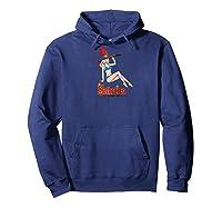 Archie Bikini Sabrina Baseball Shirts Hoodie Navy
