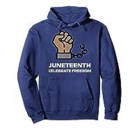 Junenth Junenth Celebration Shirts Hoodie Navy