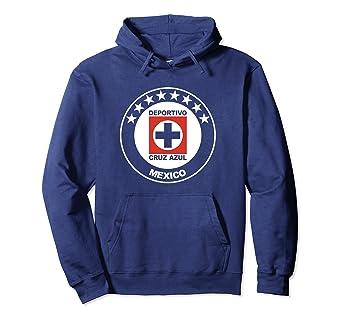 Cruz Azul Pullover Hoodie Mexico Camiseta Playera