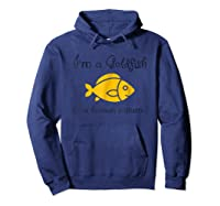 I\'m A In A Human Costume Funny Pet Shirt Hoodie Navy