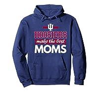 Indiana Hoosiers Indiana University Best Moms Shirts Hoodie Navy