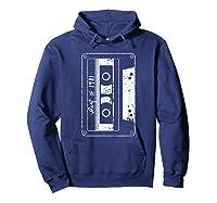 Vintage Best Of 1981 80s Tape Cassette Funny Dj Shirts Hoodie Navy