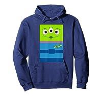 Pixar Toy Story Alien Little Green Shirts Hoodie Navy