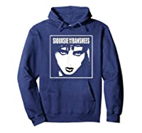 Siouxsie And The Banshees Siouxsie Sioux T Shirt Hoodie Navy