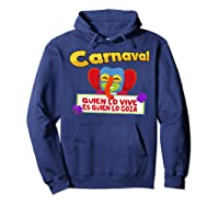 Carnaval De Barranquilla Marimonda T Shirt Hoodie Navy