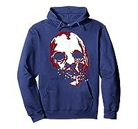 American Horror Story Asylum Bloody Face Shirts Hoodie Navy