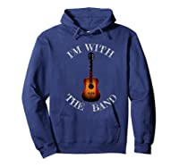 M With The Band Shirts Hoodie Navy