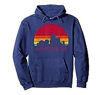 Retro Vintage Manchester City New Hampshire Designs Shirts Hoodie Navy