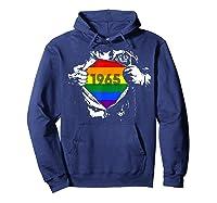 Vintage 1965 Lgbt Gay Pride 54th Birthday Gifts Shirts Hoodie Navy