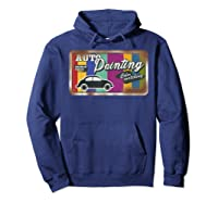 Auto Painting Old Stuff Rusty Sign T Shirt Gift For Pickers Hoodie Navy