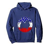 American Flag Japanese Chin Vintage Retro Japanese Chin Dog Shirts Hoodie Navy
