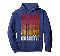 Miami Miami Miami T-shirt Hoodie Navy