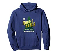 Mount Baker National Forest Retro Logo Washington Tank Top Shirts Hoodie Navy