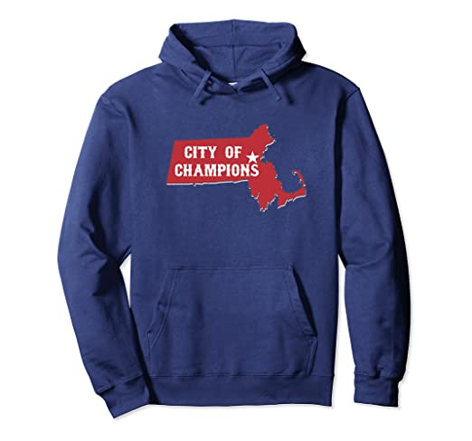 5dcb8ac22290 Image Unavailable. Image not available for. Color  City of Champions Boston  Hoodie