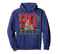 Disney Birthday Group 90th T Shirt Hoodie Navy