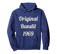 Original Bandit 1969 Retro T Shirt Hoodie Navy