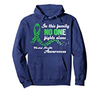 In This Family No One Fights Alone Tal Health T Shirt Hoodie Navy