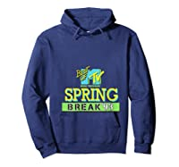 Best Of Mtv Spring Break 93 Classic Logo T-shirt Hoodie Navy