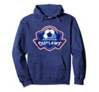 American Outlaw Soccer Game Fan Patriot Shirt Hoodie Navy