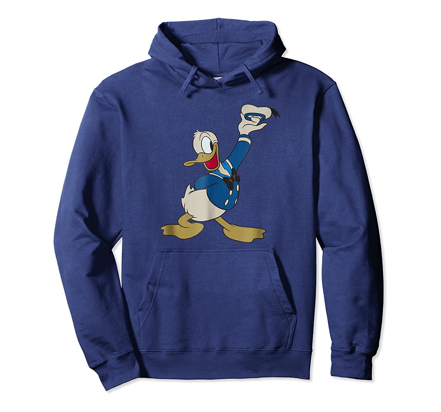 Donald Duck Salute Shirts Unisex Pullover Hoodie