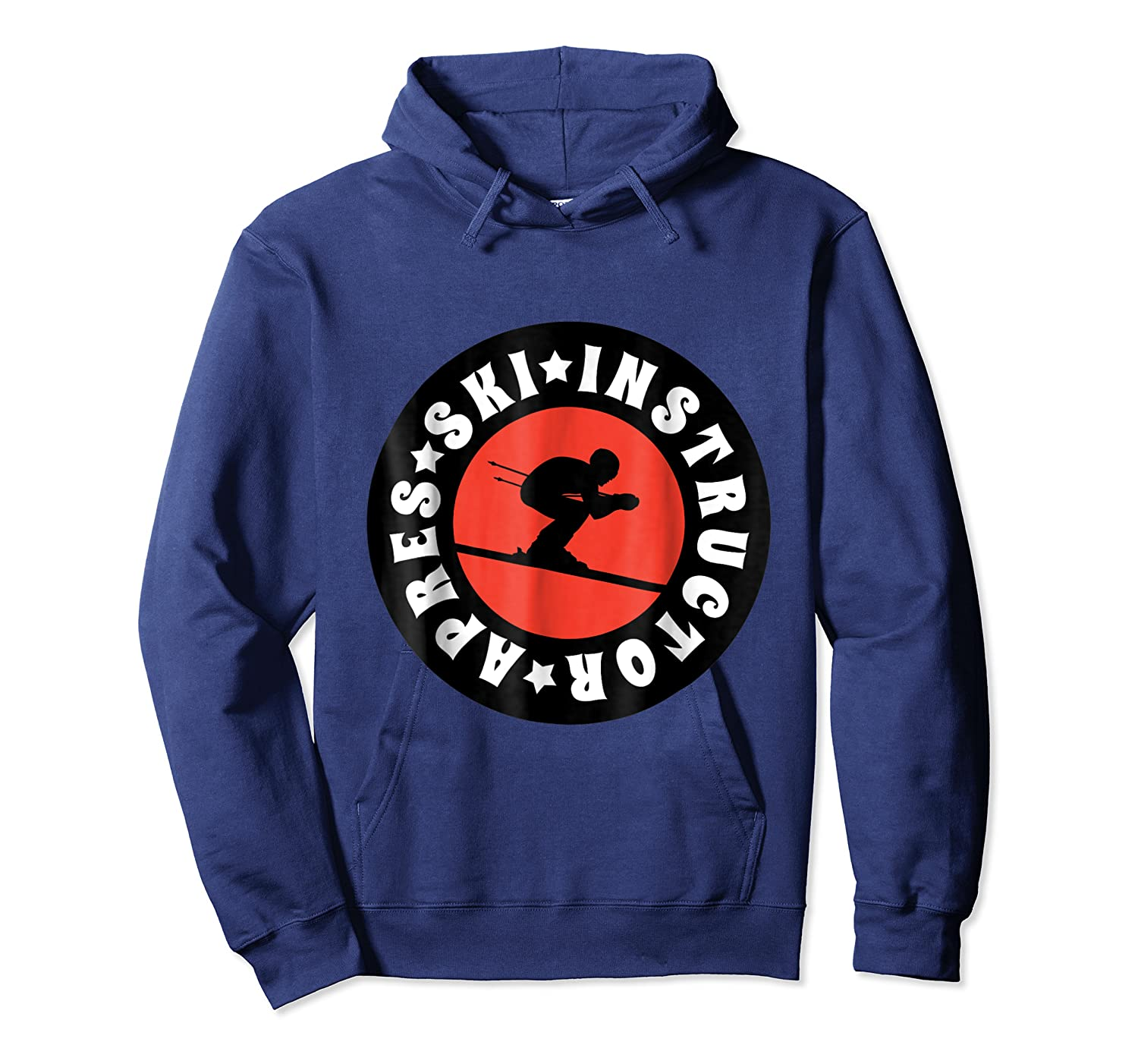 Apres Ski Skiing Instructor T Shirt Usa, France Lover Gift Unisex Pullover Hoodie