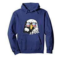 Patriotic Eagle American Flag Sunglasses Freedom Symbol Tank Top Shirts Hoodie Navy
