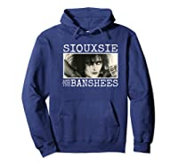 Siouxsie And The Banshees Siouxsie Sioux Premium T Shirt Hoodie Navy