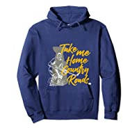 Roads To Hockey Country Fan Take Me Home Top Gift Tank Top Shirts Hoodie Navy