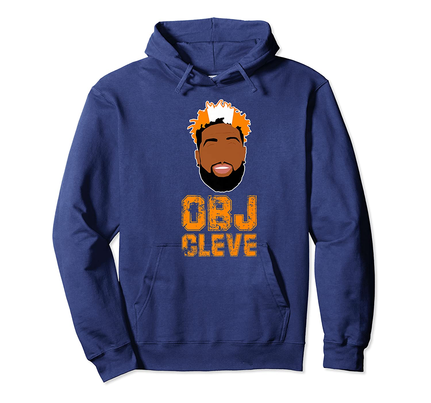 Football Obj Cleveland Shirts Unisex Pullover Hoodie