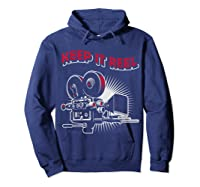 Funny Keep It Real Filmmakers Film Lovers Gift Shirts Hoodie Navy