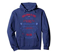 Once Upon A Time There Was A Girl Who Loved July 4th T-shirt Hoodie Navy