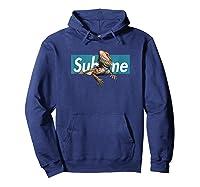 Adorable Pogona, Cute Pogona Blue Sublime Box Shirts Hoodie Navy