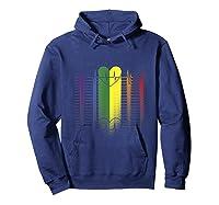 Heartbea Rainbow Flag Gay Lesbian Pride Shirts Hoodie Navy