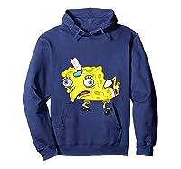 Spongebob Meme Isn't Even Funny Shirts Hoodie Navy