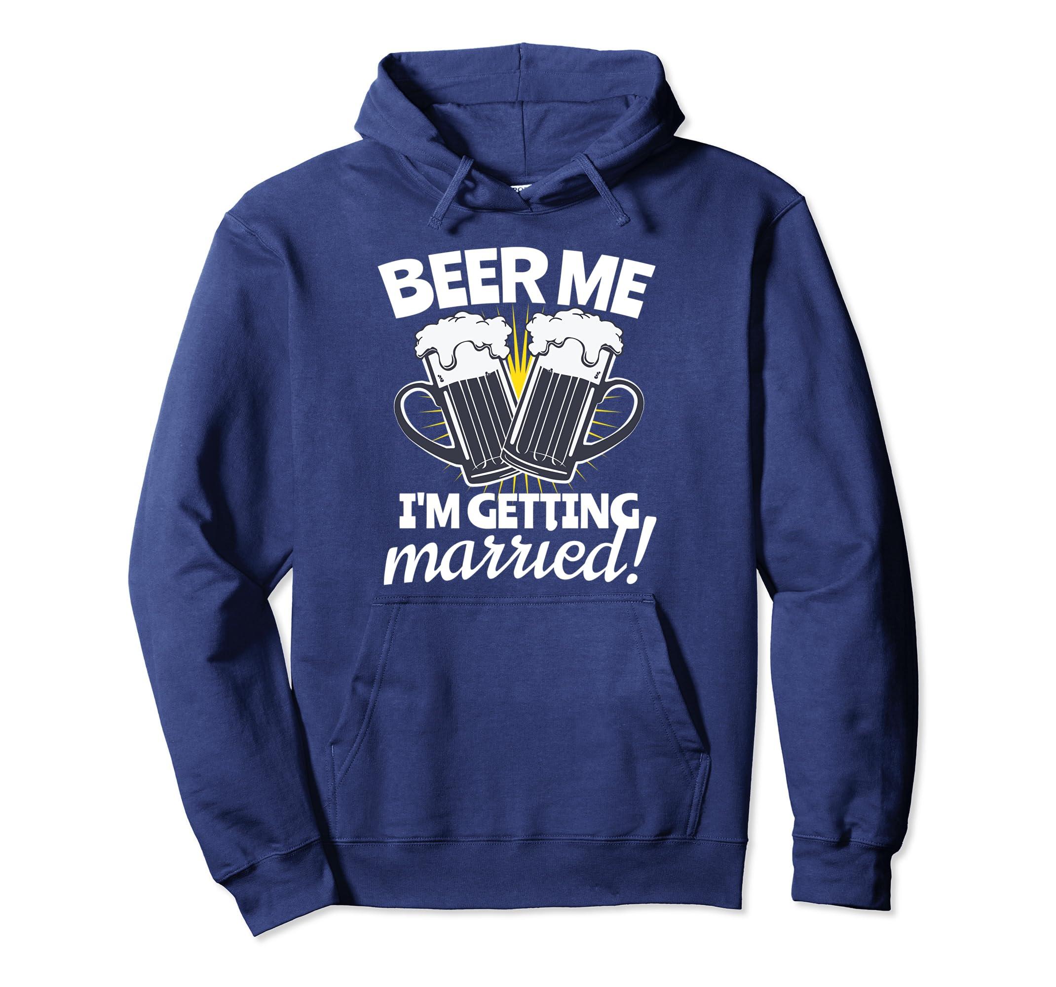 Funny Bachelor Party Beer Lover Groom Hoodie Getaway Gift