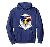 Patriotic Eagle 4th Of July Usa American Flag Sunglasses Premium T-shirt Hoodie Navy