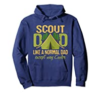 Scout Dad Cub Leader Boy Camping Scouting Gift Shirts Hoodie Navy