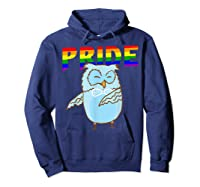 Flossing Owl Lesbian Bisexual Gay Lgbt Pride Gifts Shirts Hoodie Navy